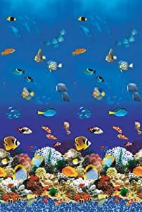 """AQUARIUM 30 Ft Round Above Ground Overlap Pool Liner 48"""" to 52"""" Side Wall 20 Year Warranty 20 mil"""