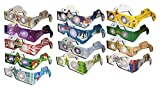 22 Pairs 3D XMAS Glasses - 13 Different Styles