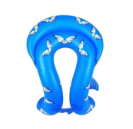 NUEVO inflable flotador Tubo Swim Vest para niños 140 – 165 cm de altura, azul