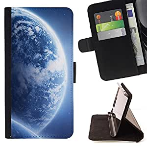 DEVIL CASE - FOR Samsung Galaxy Core Prime - Space Planet Galaxy Stars 68 - Style PU Leather Case Wallet Flip Stand Flap Closure Cover