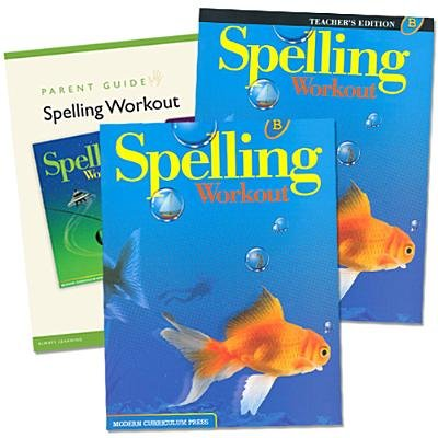Read Online Spelling Workout Homeschool Bundle Level B [With Parent Guide and Teacher's Guide][SPELLING WORKOUT HO-LVL B W/TG][Paperback] pdf