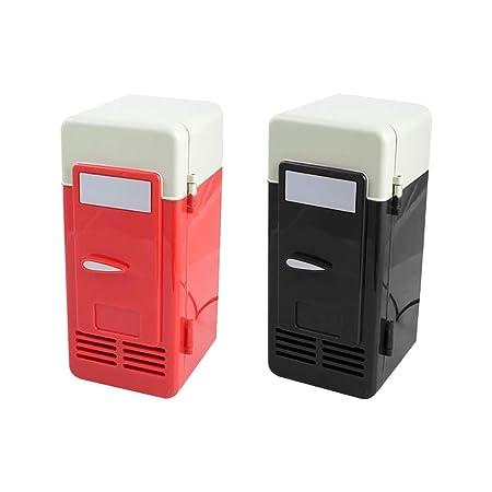 MuchachaZX Mini neveras USB Sin Batería Refrigerador Portátil O ...