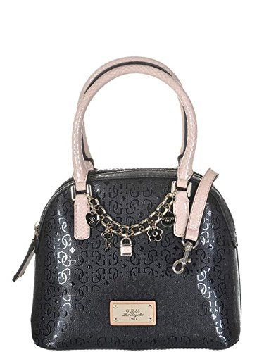 Guess Femme Dome Main Satchel Noir Capri Cruz Sac À Amour erxBWdCo