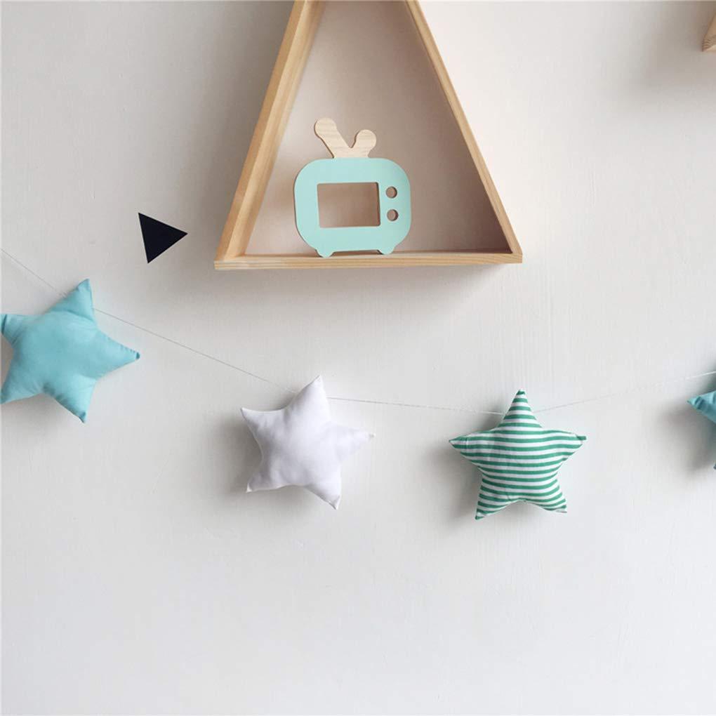Coddtington 5PCS Set Baby Room Decor Nursery Stelle Ghirlande di Natale per Bambini in Camera pareti Decorate Fotografia Puntelli Migliori Regali