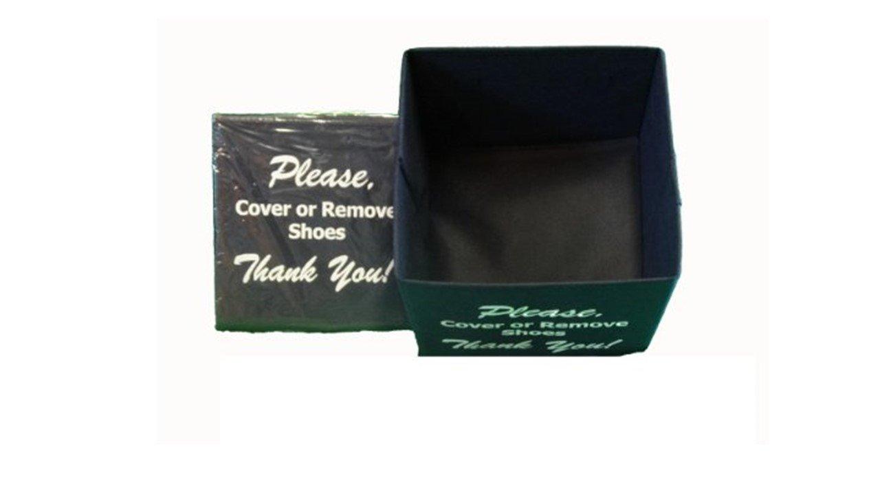 Disposable Shoe Cover Box for Realtors ''Black Bootie Box'' by Alexi Ricci (Image #1)