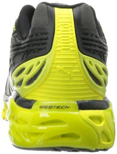 Bioweb Élite De Hombres Puma Zapato Corriente Zapatilla Negro / Negro / Amarillo Fluorescente Outlet Baratoest Bajo costo de envío 2knhy