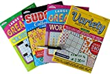 Toys : Brain Games Puzzle Books: 240 Variety Brain Teaser Puzzles For Young Adults to Seniors