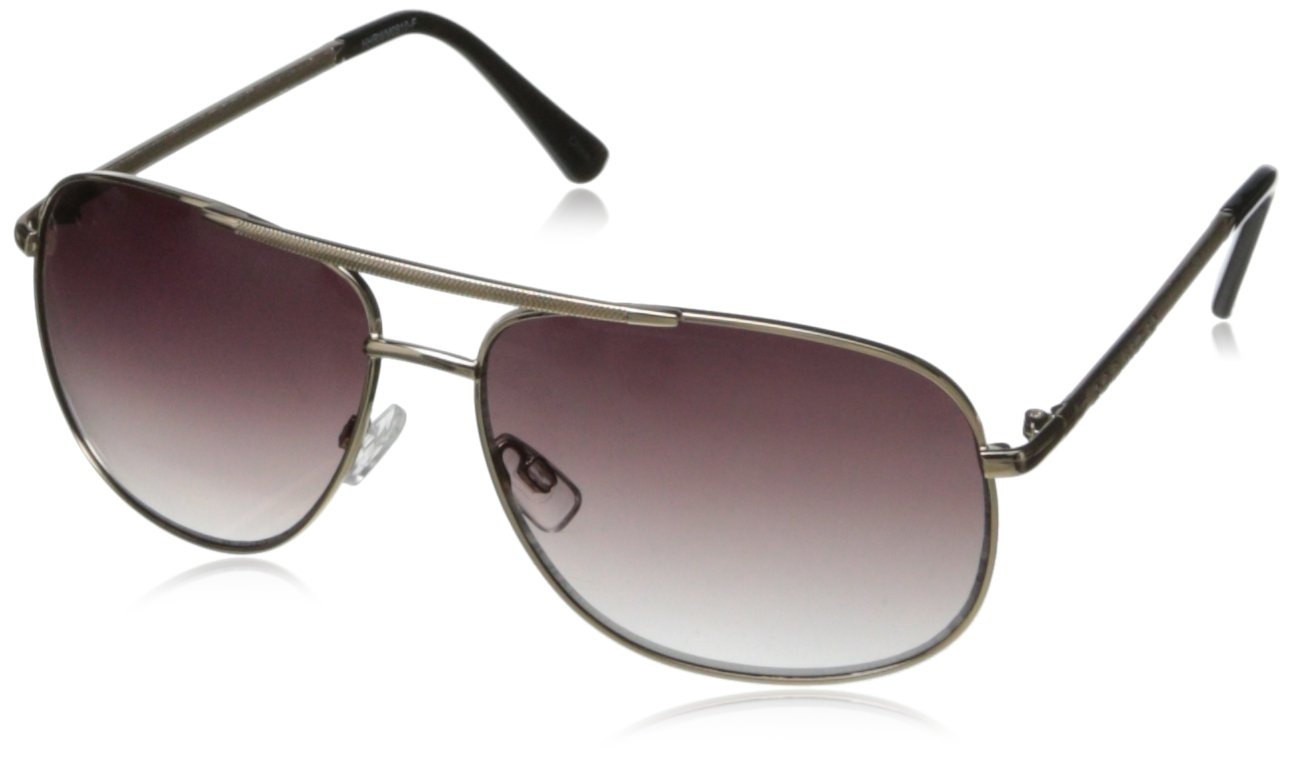 Rocawear R1376 Aviator Sunglasses,Gold Black,61 mm by Rocawear