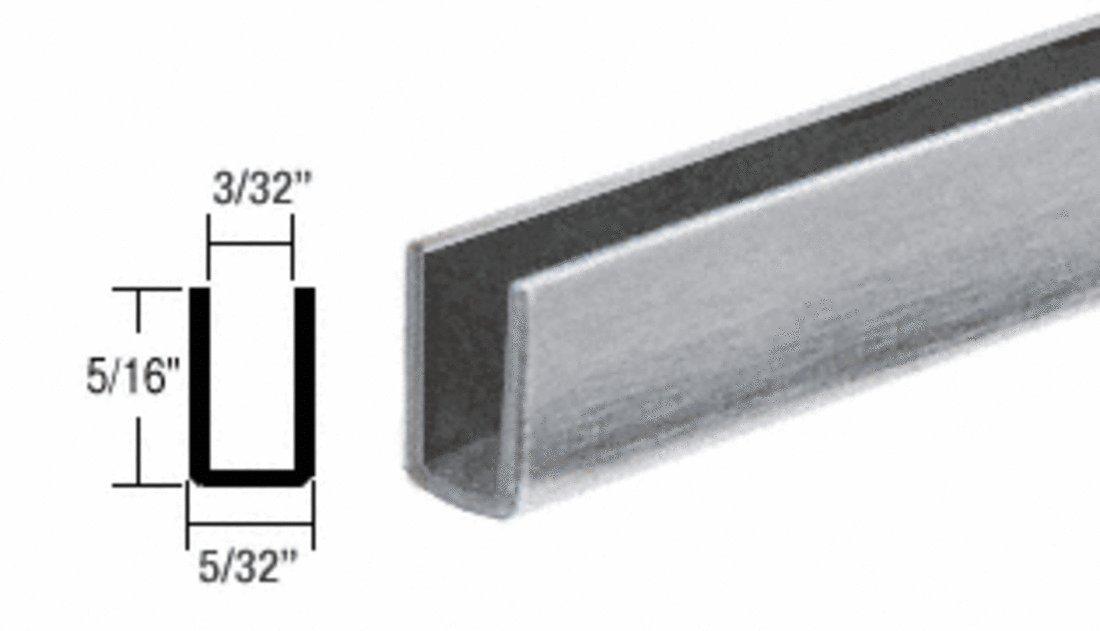 CRL Mill Adhesive Bond Storm Window Edge Wrap Frame for Single Strength Glass 35050