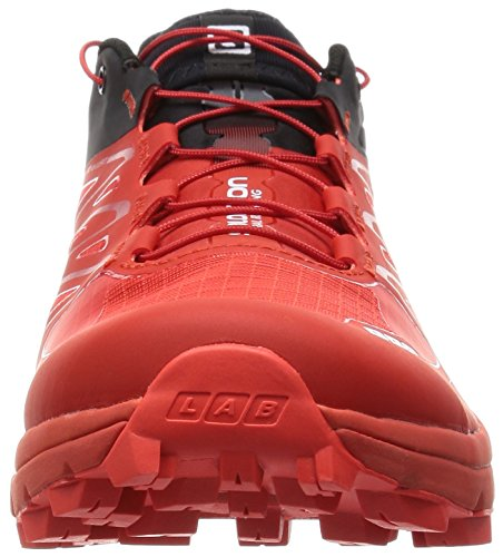 Salomon L37945700, Zapatillas de Senderismo Unisex Adulto Rojo (Racing Red /     Black /     White)