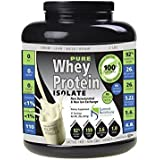 Non-GMO Pure Whey Protein Isolate: Instanized to Easy Mixing: Lactose Free: Kosher Certified: Naturally Flavored: Sweetened by Stevia: Gluten Free: Highest BCAAs and Glutamines: Zero Fat, Cholesterol, Carbohydrates, Fillers and Binders. by Summit Nutritions