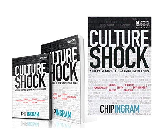 MEGA SET Book, Study Guide and DVD Chip Ingram Culture Shock