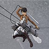 Rosy Women Attack On Titan Eren Jaeger Figma207 Pvc Action Figure Collection Model Toys Doll 15Cm