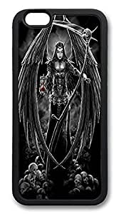 ACESR Angel Of Death Newest iPhone 6 plus Case pc hard Back Cover Case for Apple iPhone 6 plusinch Black