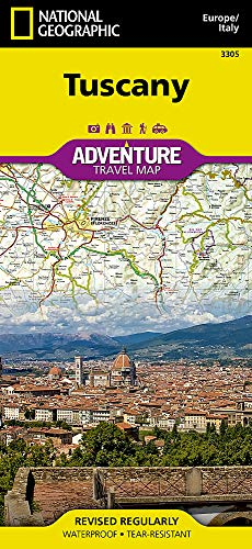 Tuscany [Italy] (National Geographic Adventure Map) (Italy Driving Map)