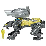 Power Rangers 25916 Movie Sabretooth Battle Zord with Yellow Ranger Figure