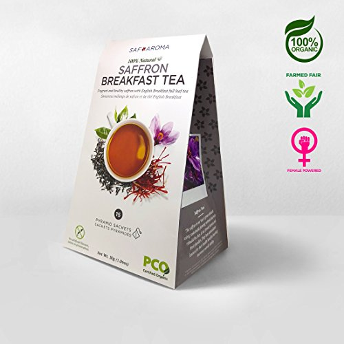 Saffron Breakfast Tea - Organic, Non-GMO, and Ethically for sale  Delivered anywhere in Canada