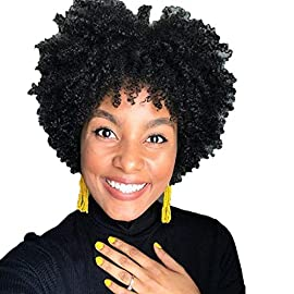 Zlolia Short Curly Bob Lace Front Wig 100% Brazilian Human Hair Pre Plucked with Baby Hair for Women