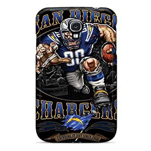(hCN1177OcxJ)durable Protection Case Cover For Galaxy S4(san Diego Chargers)