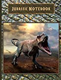Jurassic Notebook: Wide-Ruled 150 Pages