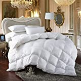 Egyptian Bedding All-Season King Size Luxury Siberian Goose Down Comforter...