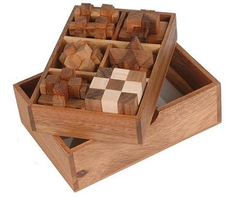 Amazon.com: Monkey Pod Games Six Puzzle Gift Set: Toys & Games