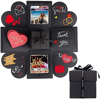 Amazon.com: Caja de regalo de Explosión Creativa, hecho a ...
