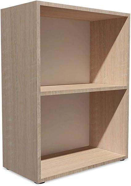 vidaXL Estantería 60x31x78 cm Madera Color Roble Repisas Mueble Organizador