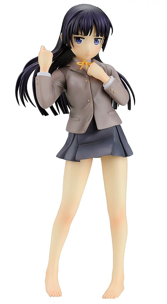 Ore no Imouto ga Konna ni Kawaii Wake Ga Nai: Kuroneko School Uniform/Swimsuit Version 1/8 PVC Figure