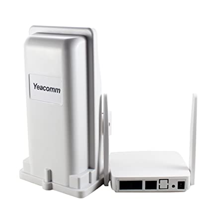 4G Outdoor CPE WiFi Router, Yeacomm 3G 4G LTE CPE Kit | LTE Unit with Sim  Card Slot + Indoor AP WiFi Hotspot, 150Mbps CAT4 Mobile WiFi Router for