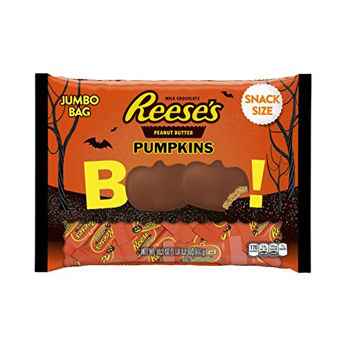 REESE'S Peanut Butter Halloween Pumpkin, Milk Chocolate Cove