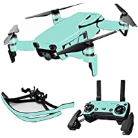 MightySkins Skin for DJI Mavic Air Drone - Solid Seafoam | Max Combo Protective, Durable, and Unique Vinyl Decal wrap cover | Easy To Apply, Remove, and Change Styles | Made in the USA