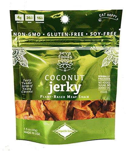 Seva Foods Organic Chipotle Lime Coconut Jerky