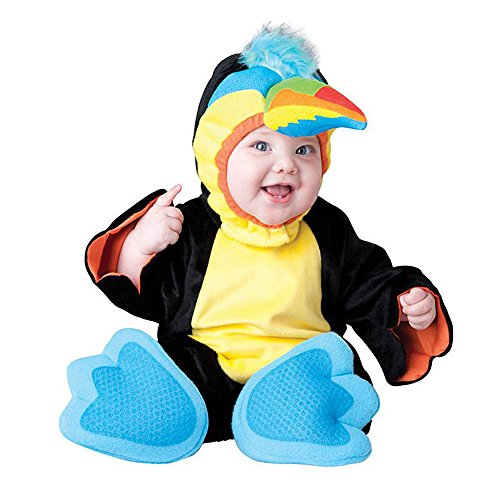 Toddler Baby Animal Bird Parrot Outfit Halloween Costume]()
