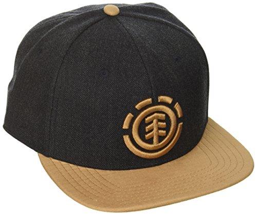 Element Men's Snapback Hats, KNUTSEN B Navy Heather, -