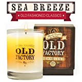 Scented Candles - Sea Breeze - Decorative Aromatherapy - 11-Ounce Soy Candle