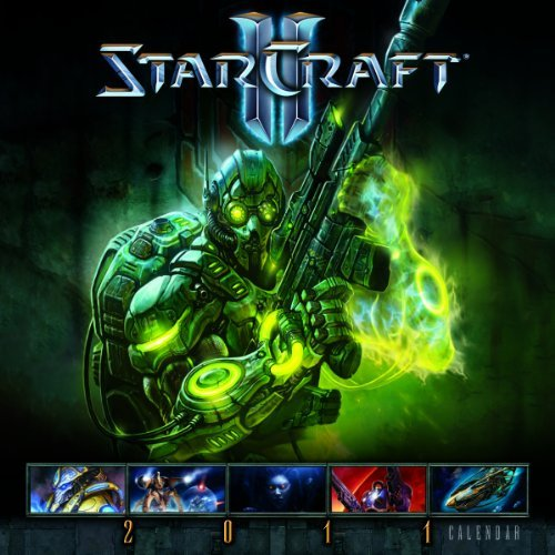By Blizzard Entertainment StarCraft II 2011 Wall Calendar (Calendar) (Wal) [Calendar] PDF