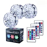 Best Bulb Lights With IR Remotes - AnSaw Submersible LED Lights, IR Remote Controlled RGB Review