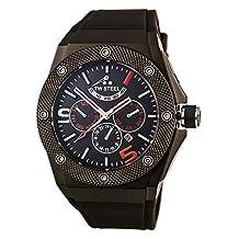 TW Steel CE4010 Men's Ceo Tech Automatic Grey Dial Grey Rubber Strap Watch