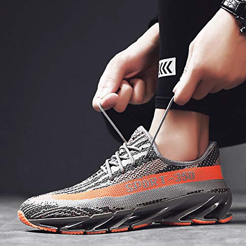 Air Baskets Gris Casual Marche Hommes Lger De Respirant Cushion Athltique Fitness Femmes Un Chnhira Course Chaussures nRSYXYqw