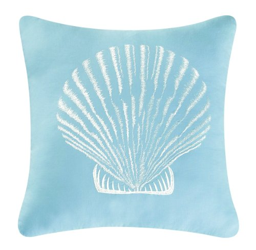Newport Nautical Throw (C&F Home Treasures by The Sea Collection Pillow, 18 by 18-Inch)