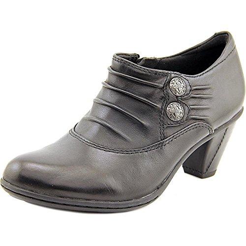 Earth Women's Amethyst Black Full Grain Leather Shoe -