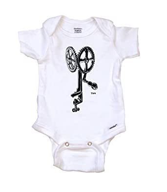 26276a3c7011e Amazon.com: WHIRRING Gear Steampunk Cool Baby Onesie, Bodysuit, Tops  |Unique Baby Gift: Clothing