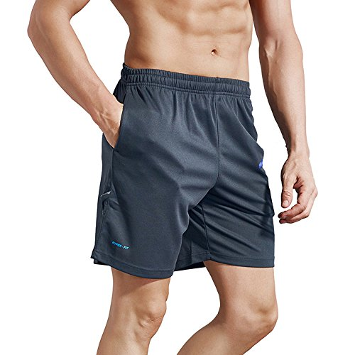 fea7f6cd14391 1994Fashion Men's Running Shorts Gym Active Shorts with Pockets Quick Dry  7