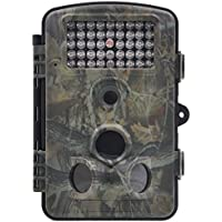 ZenNutt Wildlife Trail & Game Camera-HD 1080P 12 MP Mini Low Glow Infrared Night Vision Motion Activated Outdoor Hunting Cameras with 2.4 LCD Screen & 42pcs IR LEDs 1 Year Guarantee