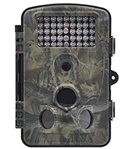 "ZenNutt Wildlife Trail & Game Camera-HD 1080P 12 MP Mini Low Glow Infrared Night Vision Motion Activated Outdoor Hunting Cameras with 2.4"" LCD Screen & 42pcs IR LEDs 1 Year Guarantee"