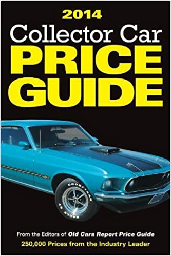 Classic Car Price Guide >> Collector Car Price Guide 2014 Editors Of Old Cars Report