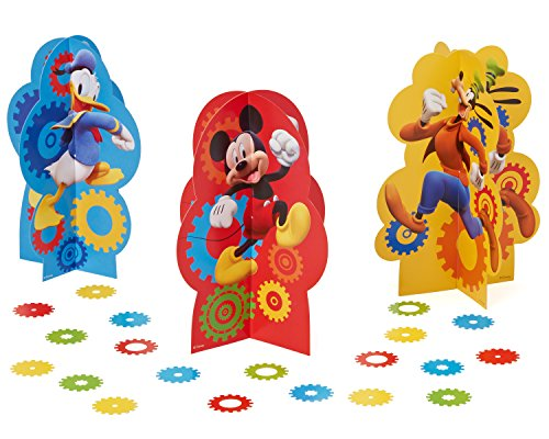 American Greetings Mickey Mouse Clubhouse Table Decorations by American Greetings