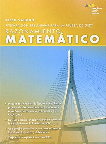 Steck-Vaughn Pre GED, Spanish: Mathematical Reasoning (Spanish Edition)