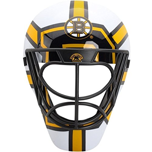 Patch Collection Boston Bruins Goalie Mask Helmet Style FanMask by Patch Collection